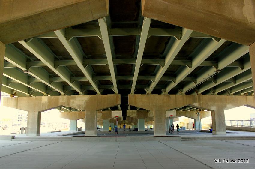 Underpass Park is finally open!