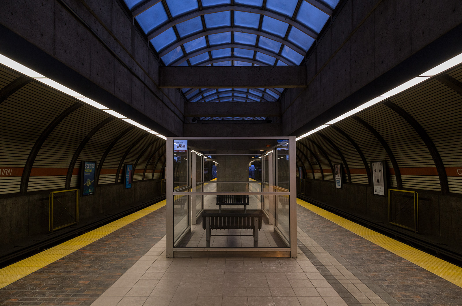 Photo 20131212. The often overlooked and rarely visited Glencairn Subway station, Toronto