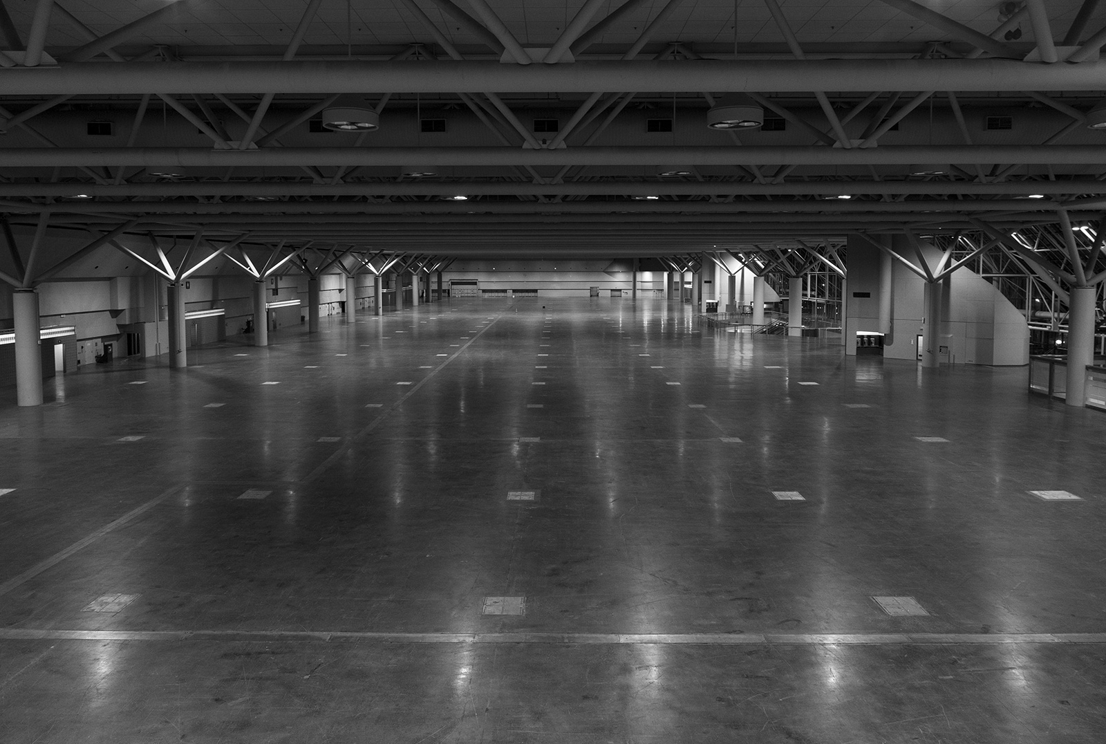 Photo 20131213. The Metro Toronto Convention Centre's largest continuous exhibition space is almost 6 acres.
