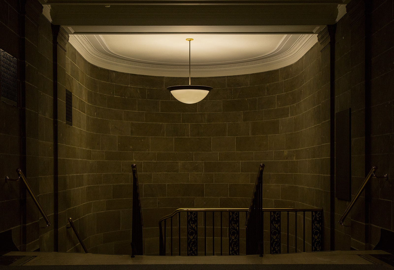 Photo 20131220. Stairwell from the underground. Minimal Aesthetic #19.