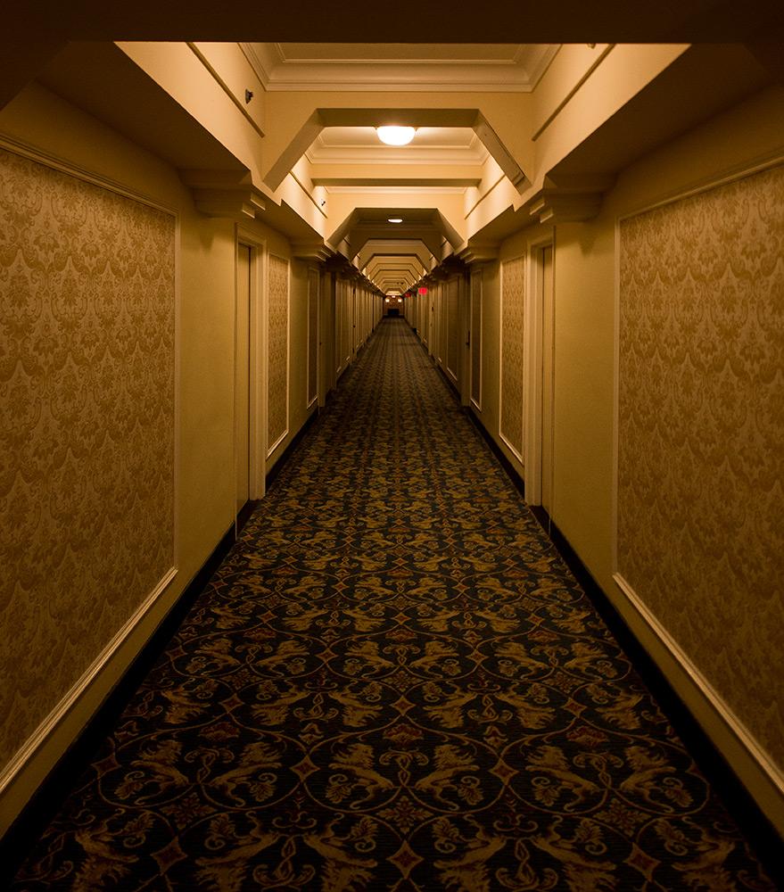 Photo 20131227. A very long quiet empty hallway