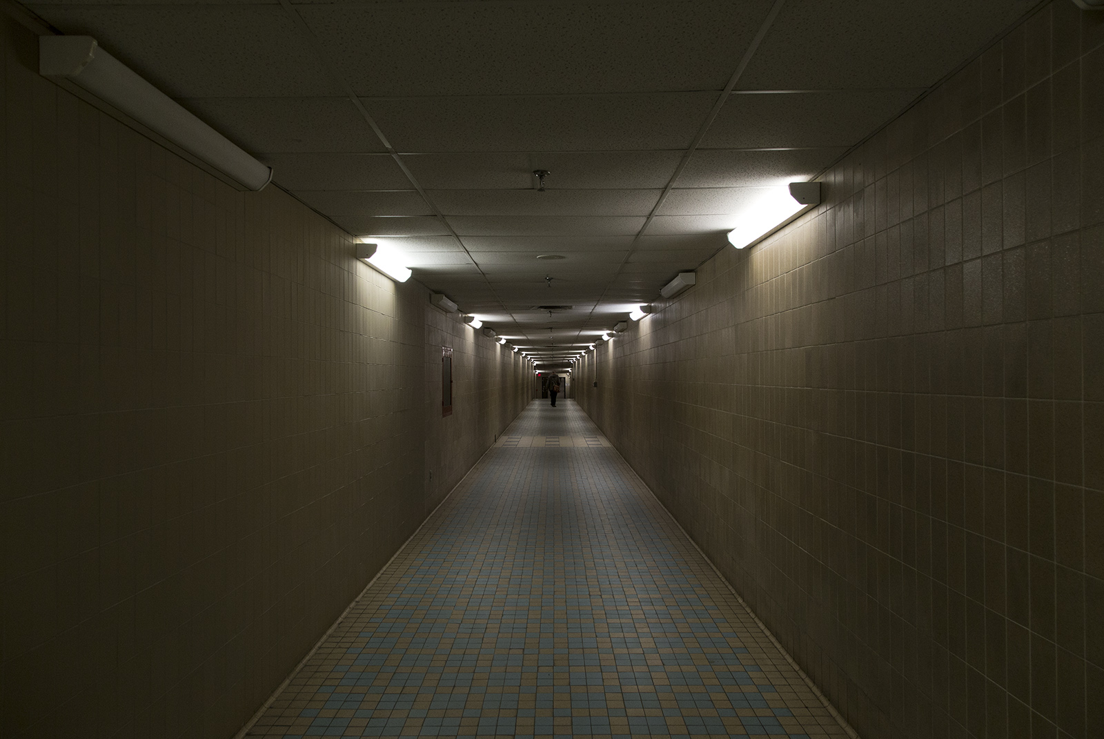 20140220. Inside the tunnel linking Queen's Park subway station and the provincial government buildings.