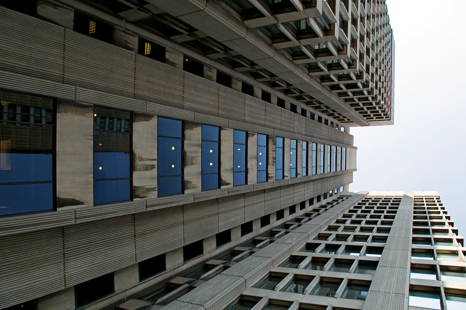 20140618. A different angle on Manulife Financial at 250 Bloor St E (c.1968) in Toronto.