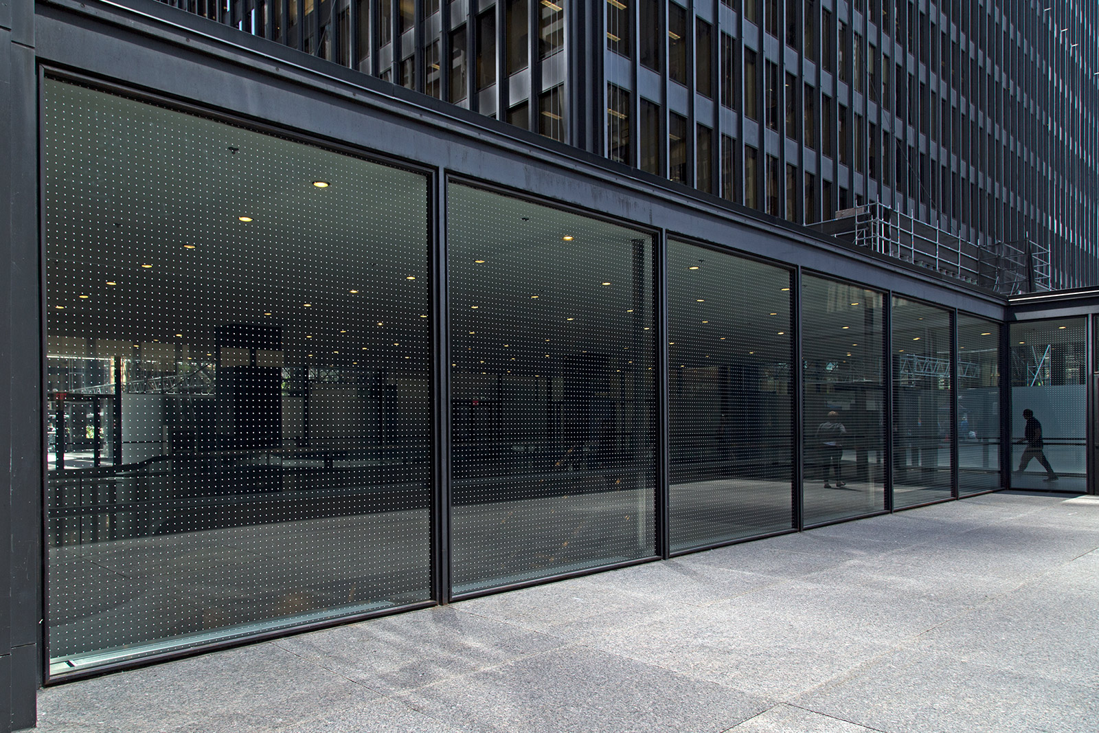 20140619. Dots on Mies van der Rohe's International Style TD Centre (Toronto).