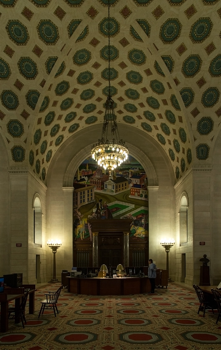 20140824. The stunning Cleveland Public Library Main Branch grou