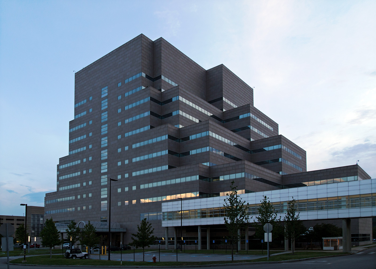 20140901. The Crile Building at the Cleveland Clinic medical cen