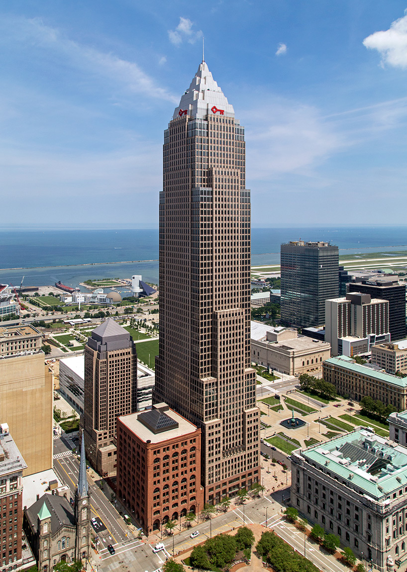 20140910. The Key Tower in downtown Cleveland – the tallest bu