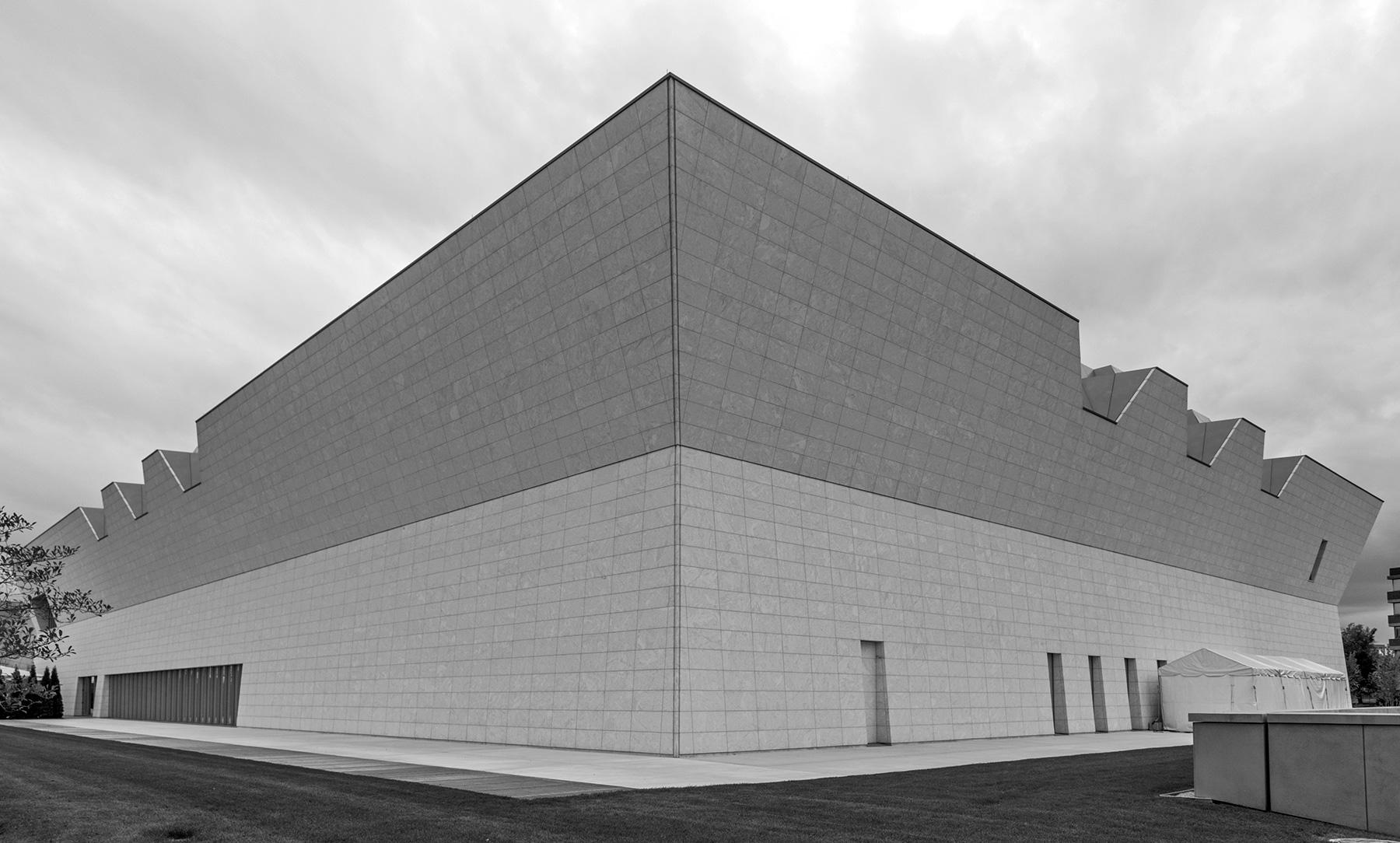 20140915. Behind Toronto's new Aga Khan Museum of Islamic Art -