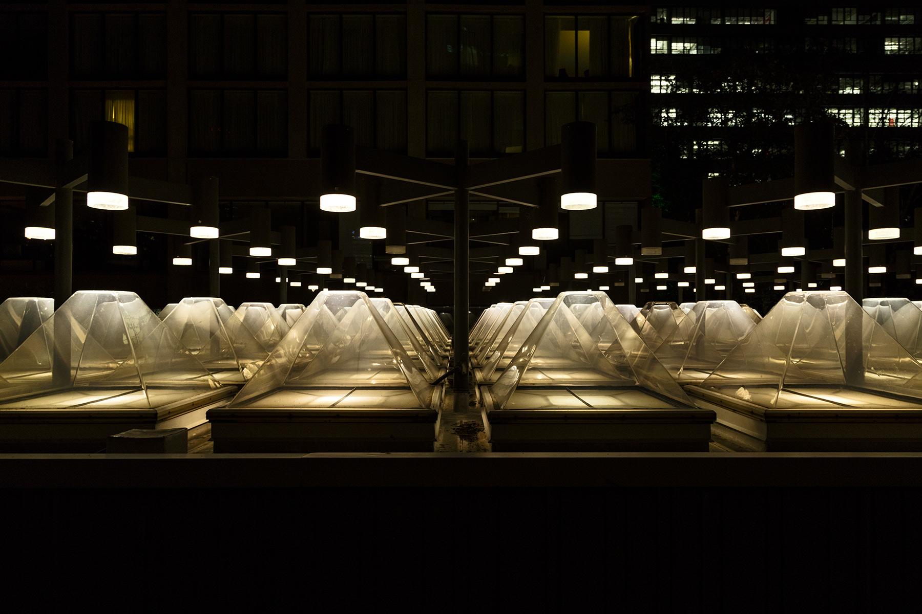 20140927. Toronto's coolest skylight, with its modernist 1972 de