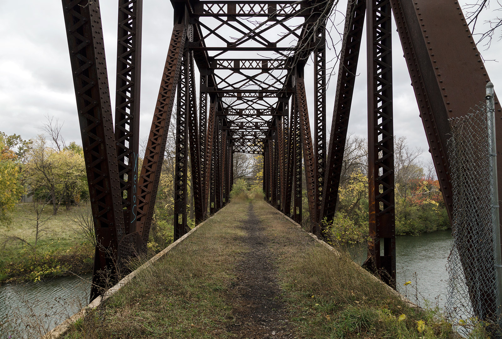 20141029. The Pennsylvania Railroad crossed the Erie Canal on th