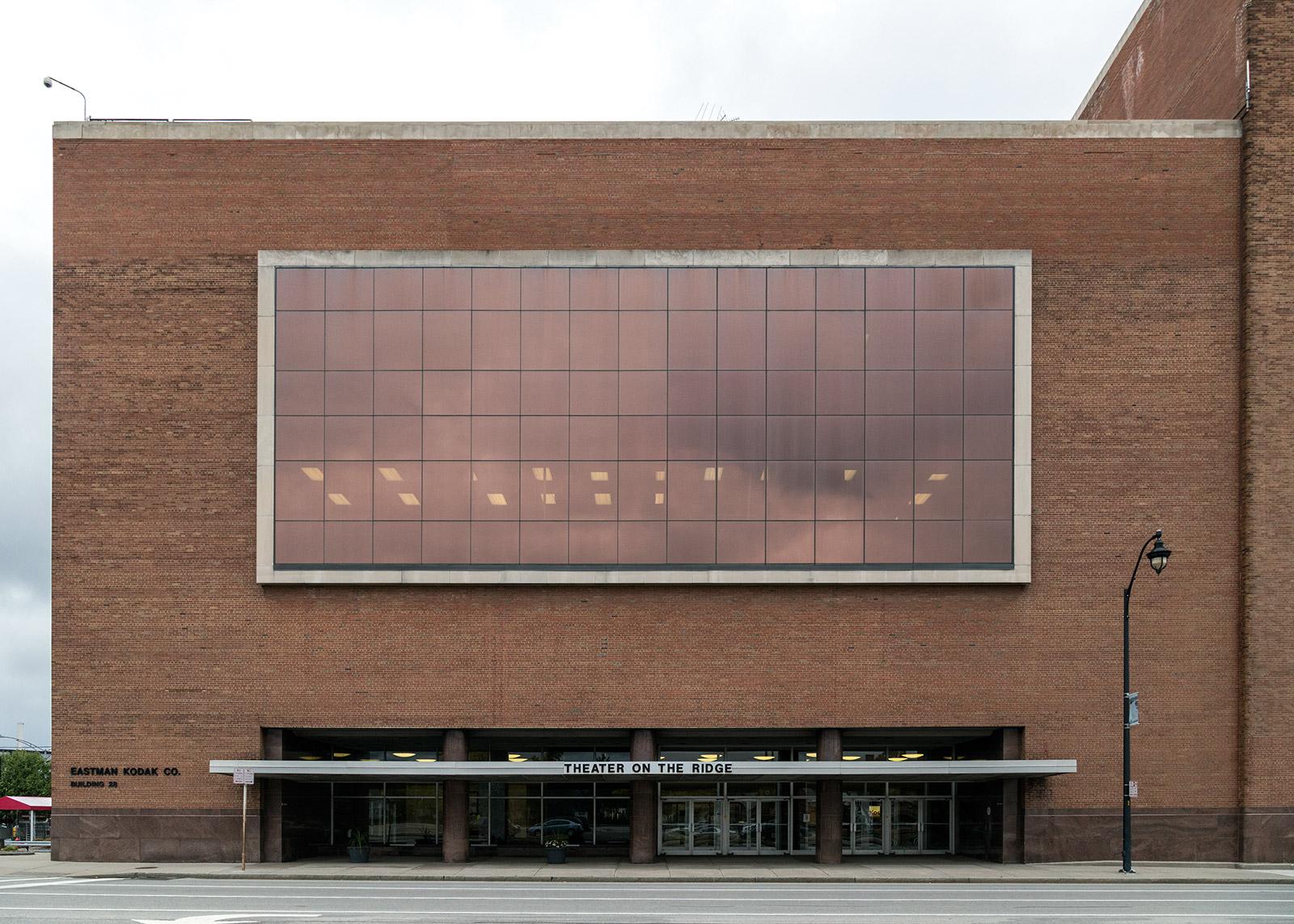 20141102. Today, the 1964-seat Theater on the Ridge (Kodak Build