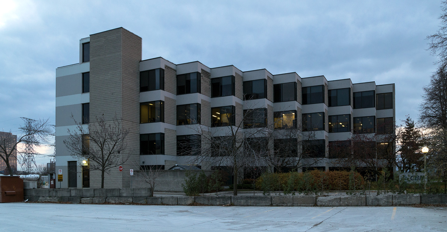 20141119. The St. Mary's Cement building in Leaside, Toronto was