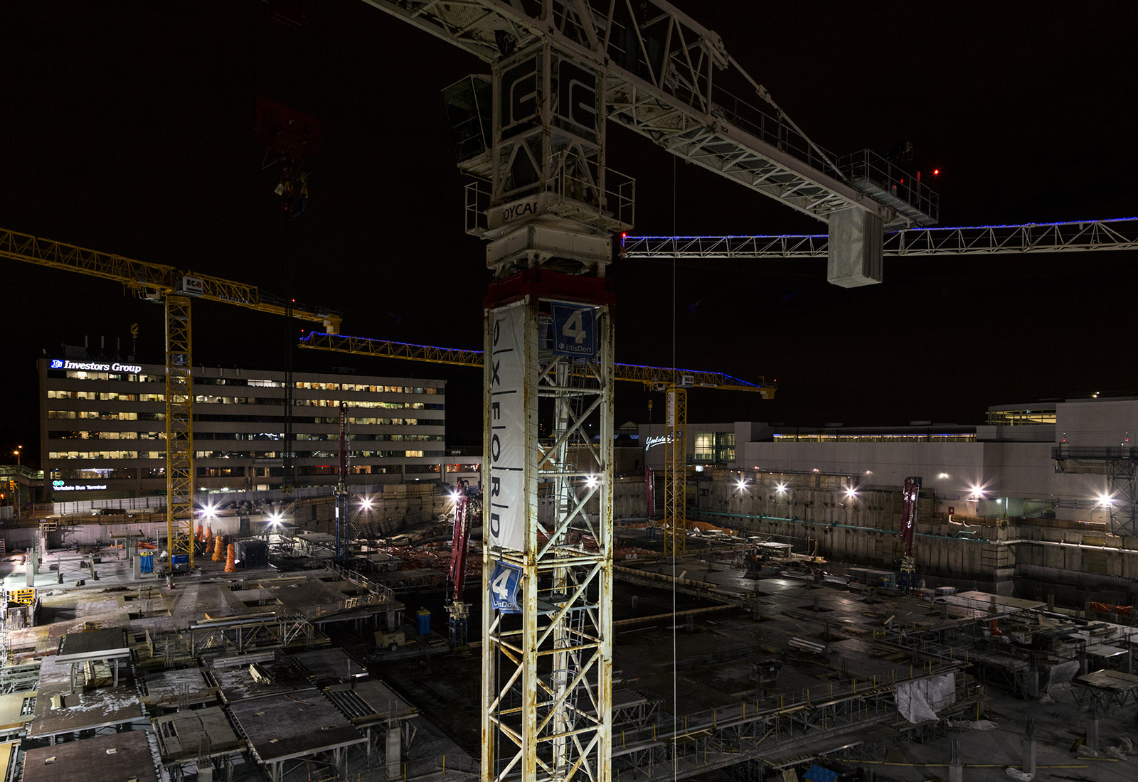 20150102. Toronto's Yorkdale Mall expansion construction site is