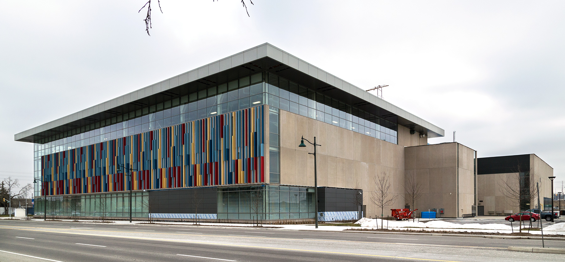20140114. The Atos Markham Pan Am Centre will host water polo, b