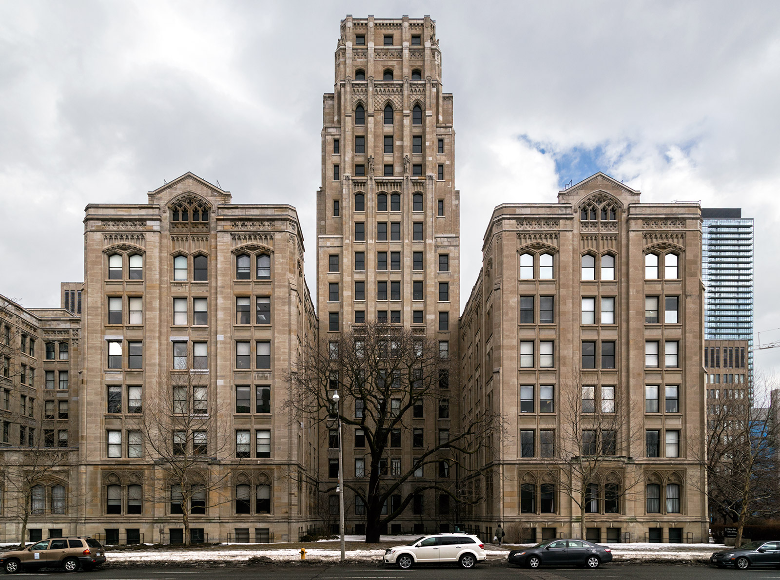 20150119. The tower of the modern gothic-art deco Whitney Block