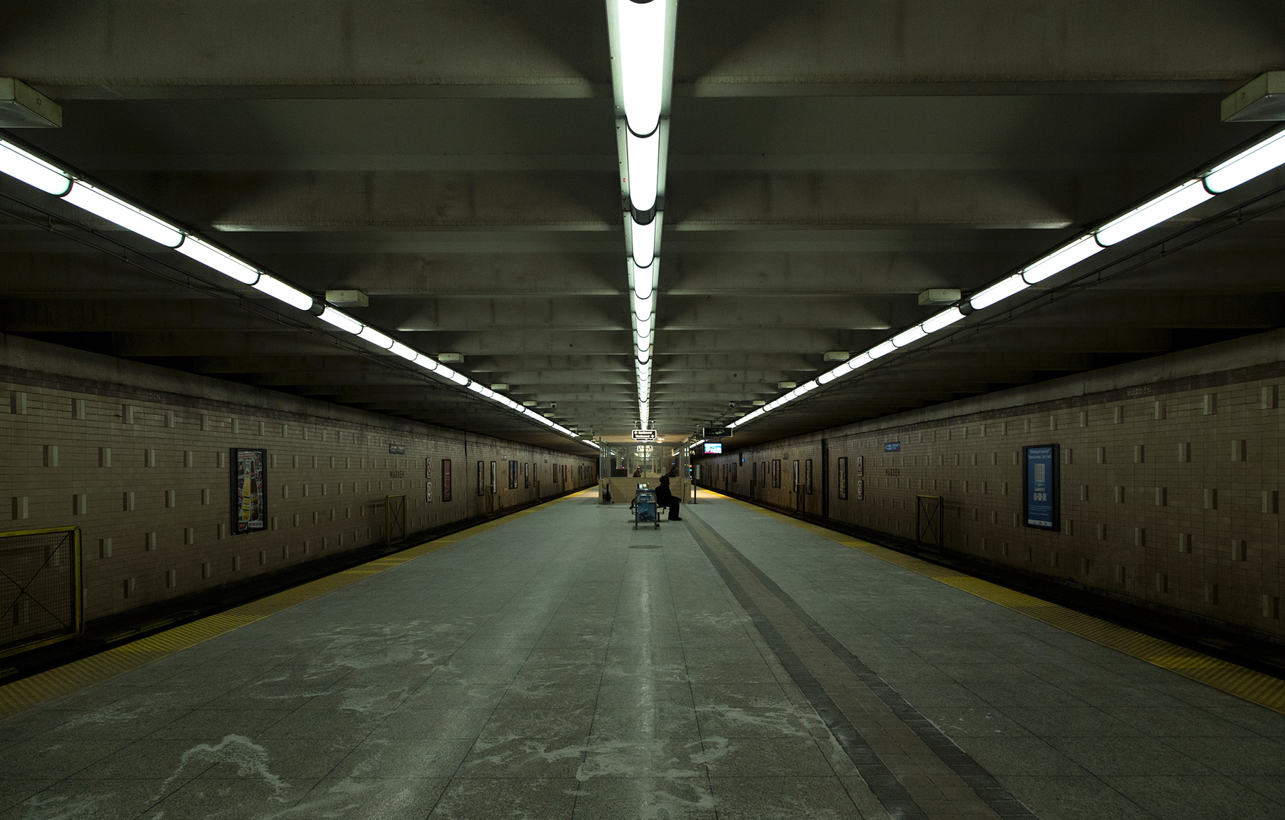 20150127.  The length of Toronto's subway stations is made appar