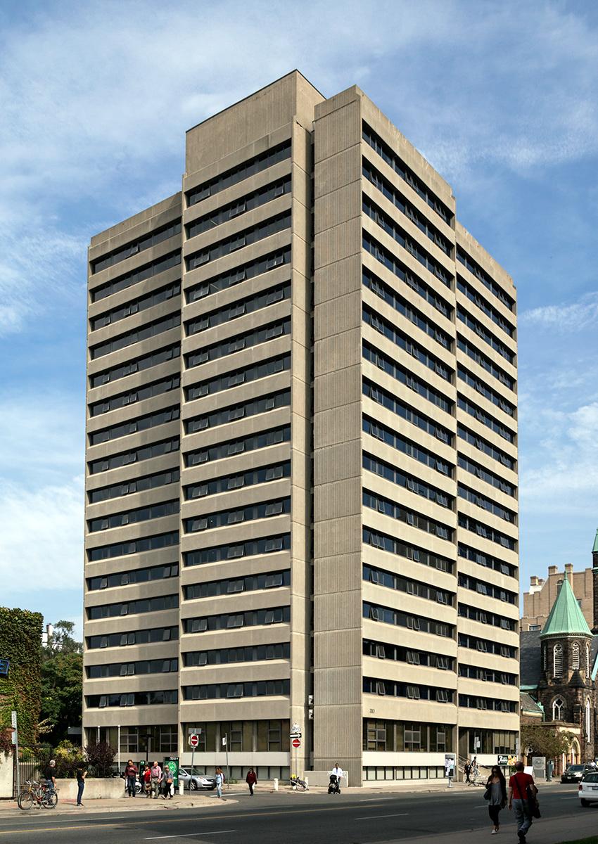 20150201. University of Toronto's Tartu College (c.1969) is br