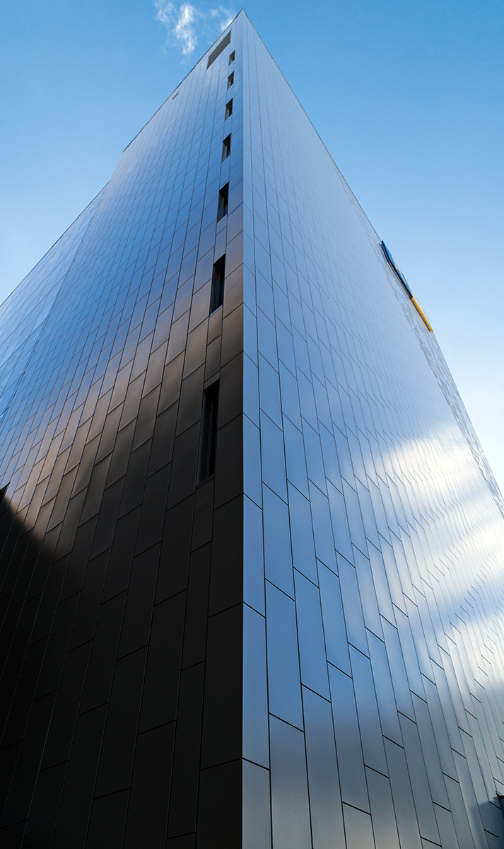 20150221. The shiny rear exterior of the new Ryerson Student Lea
