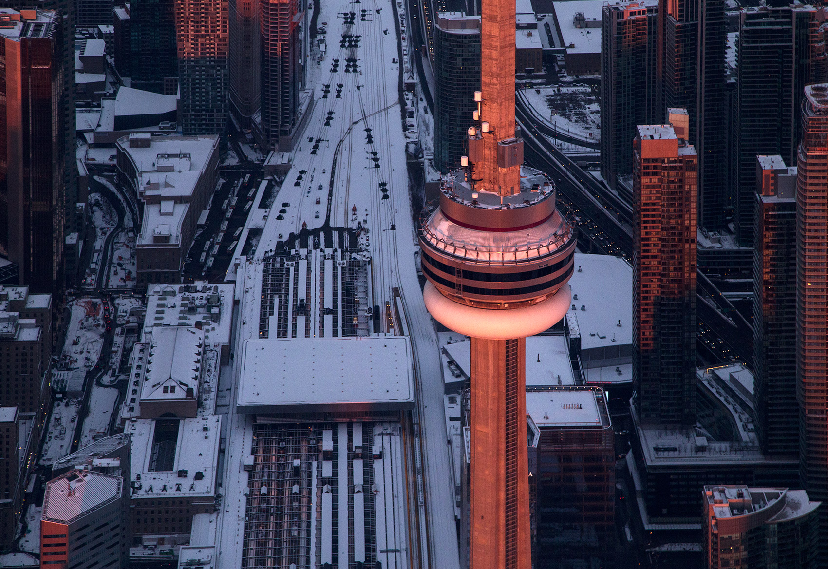 20150223. Getting up close and personal with the CN Tower at 200