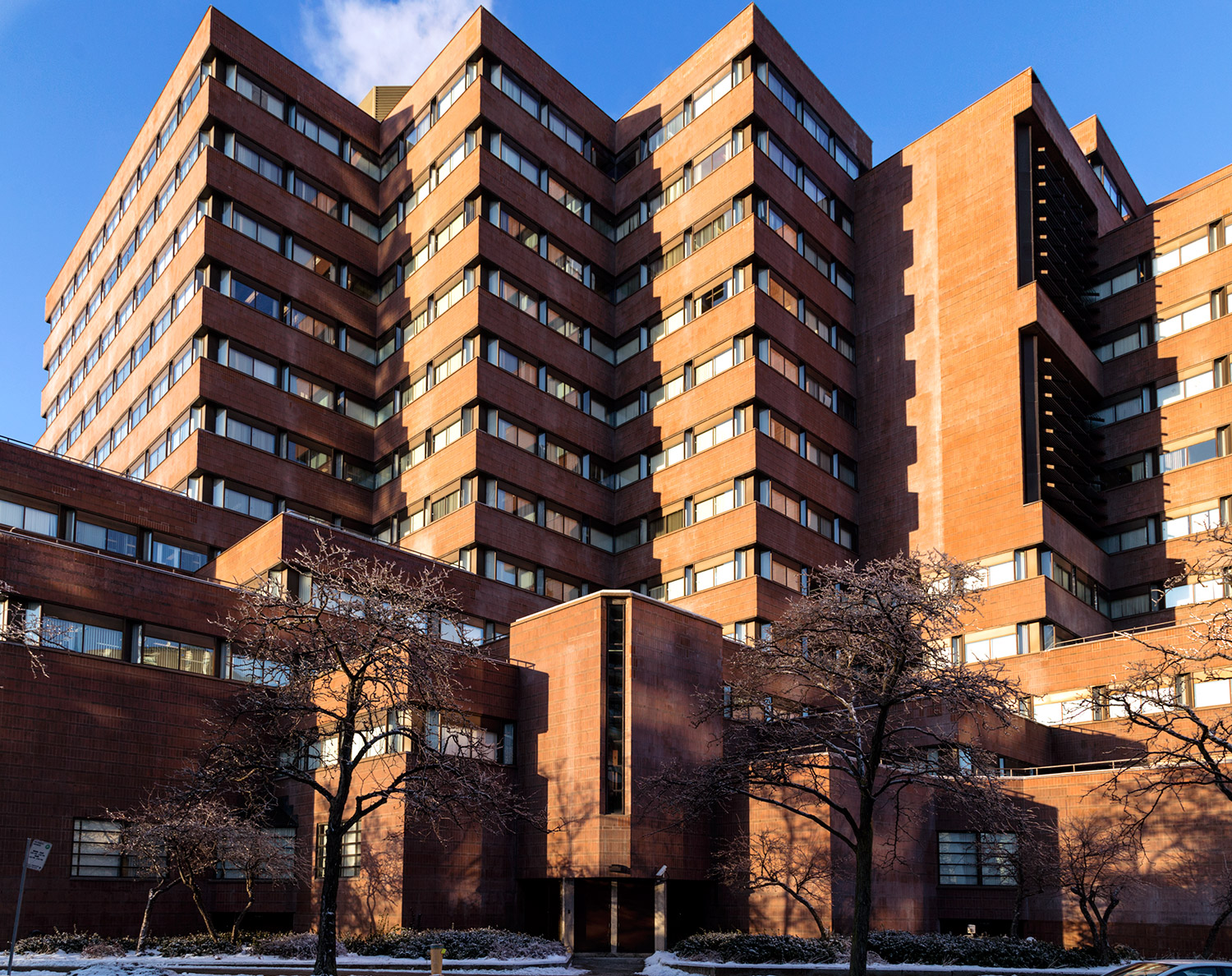 20150328. North York's late modernist Joseph Shepard Federal Bui