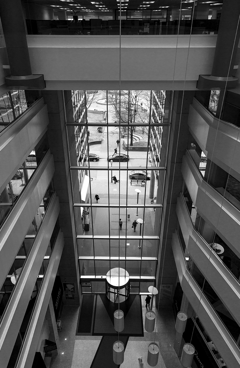 20150410. Enter the Atrium. Toronto.