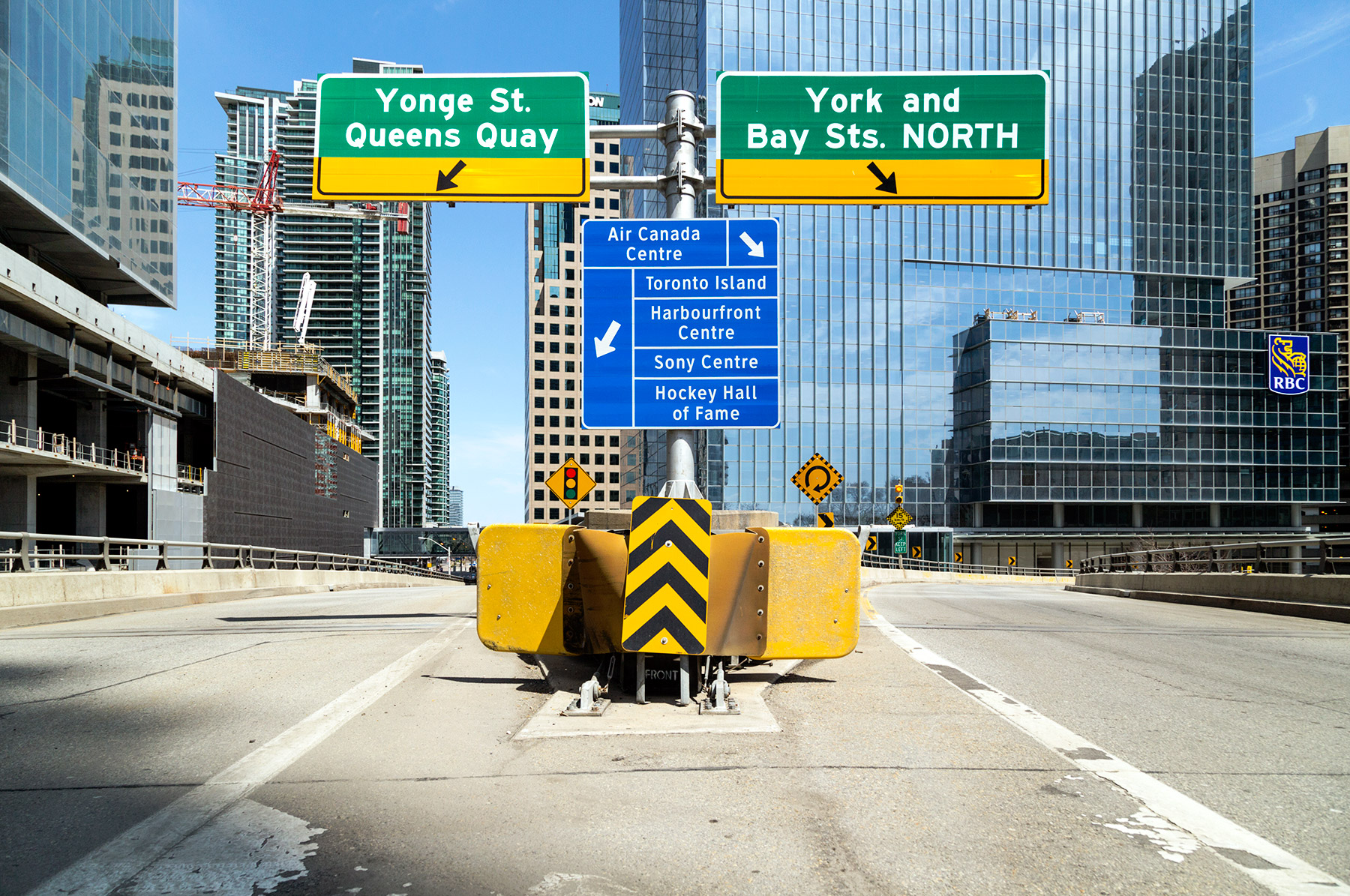 20150502. When on foot which Gardiner Expressway exit do you tak