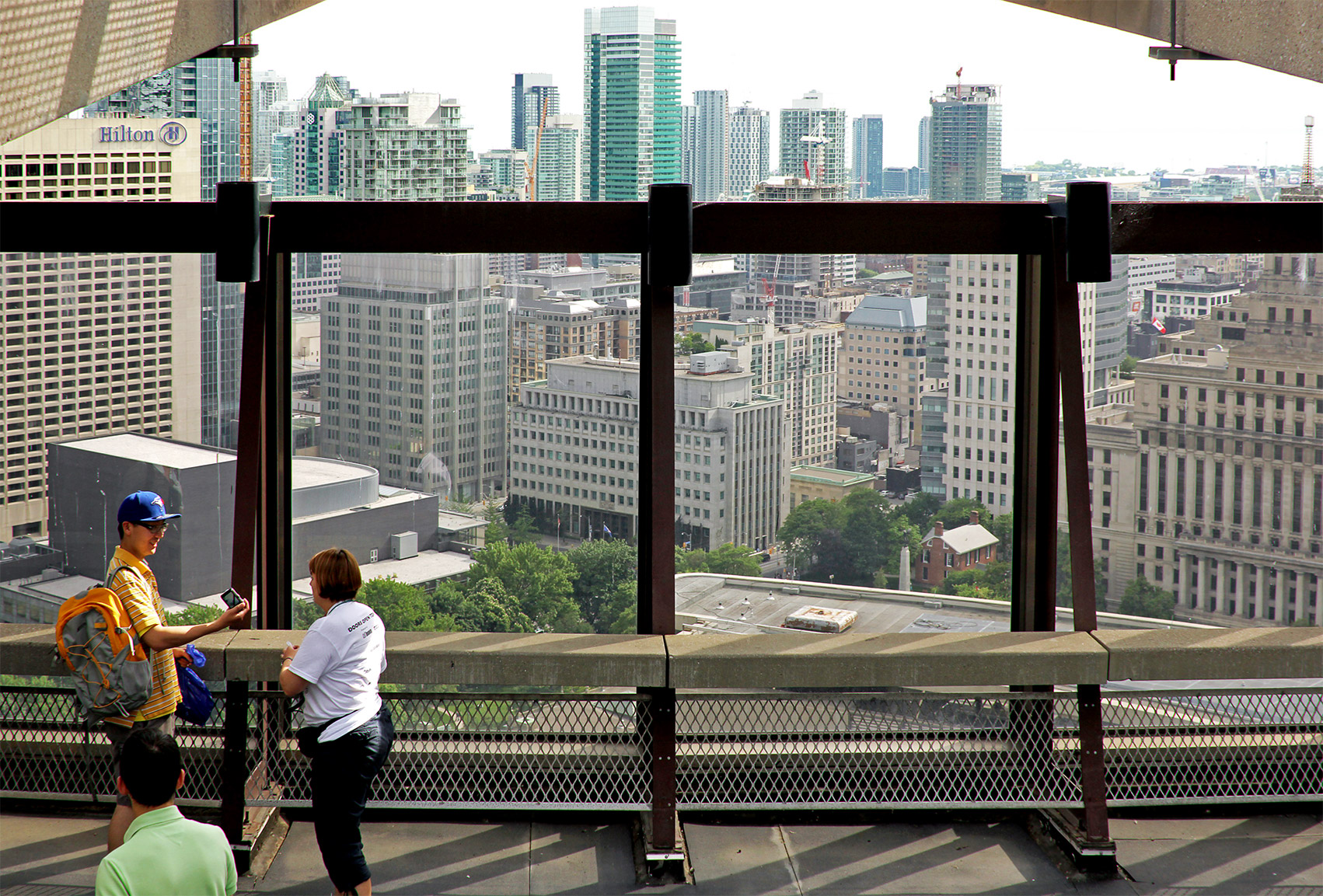 20150509. Enjoy great views from Toronto City Hall's observation