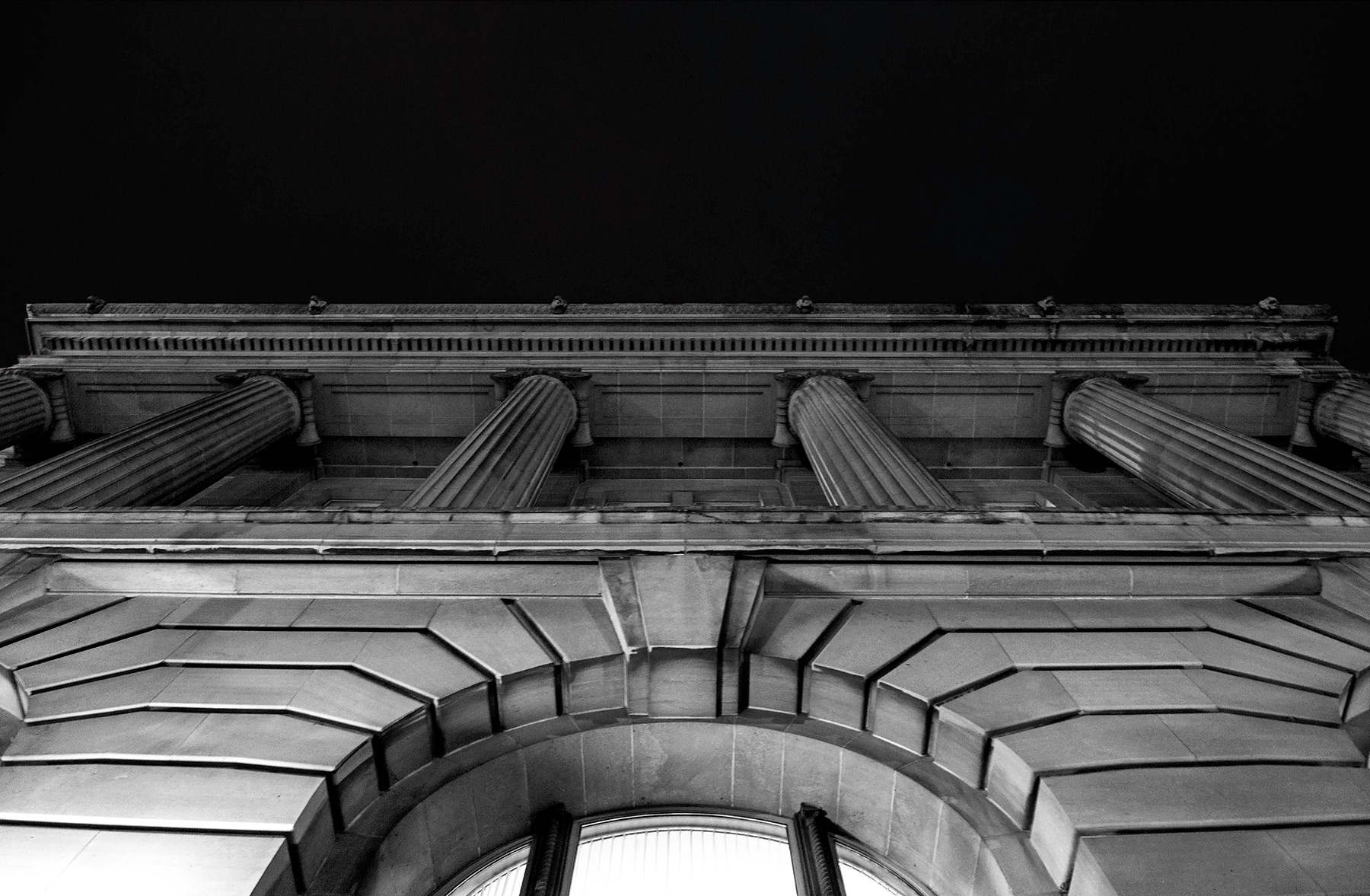 20150531.Ionic columns rise above the entrance of Toronto's icon