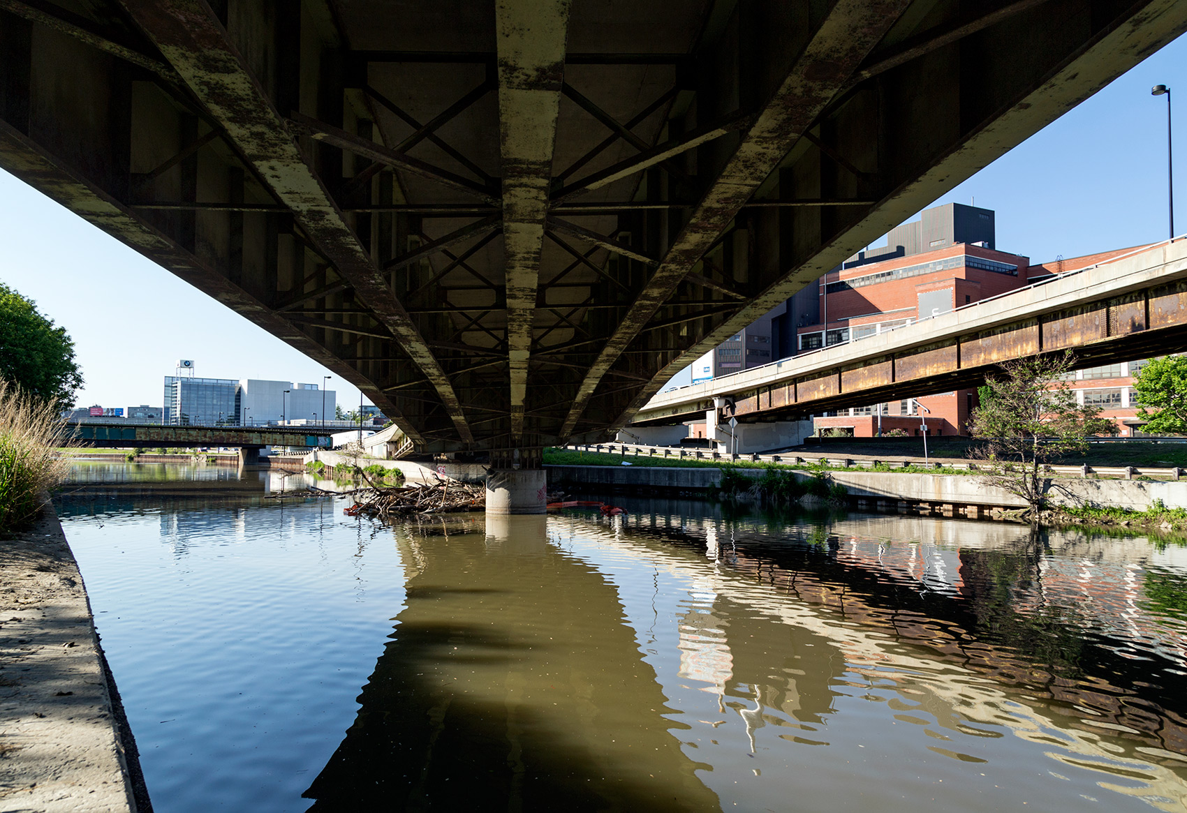 20150605. Imagine a naturalized Don River beneath the @GardinerE