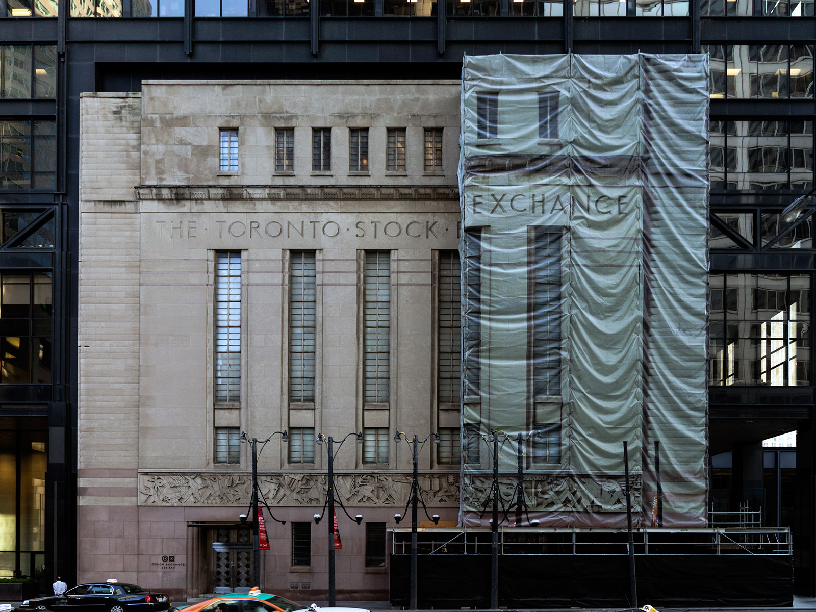 20150714. Undergoing restoration, Toronto's Design Exchange is u