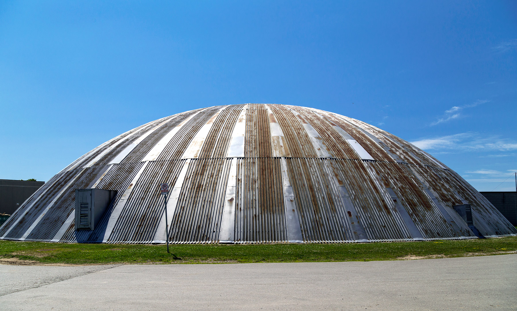 20150720. Toronto's UTIAS spherical-cap-shaped MarsDome robotics