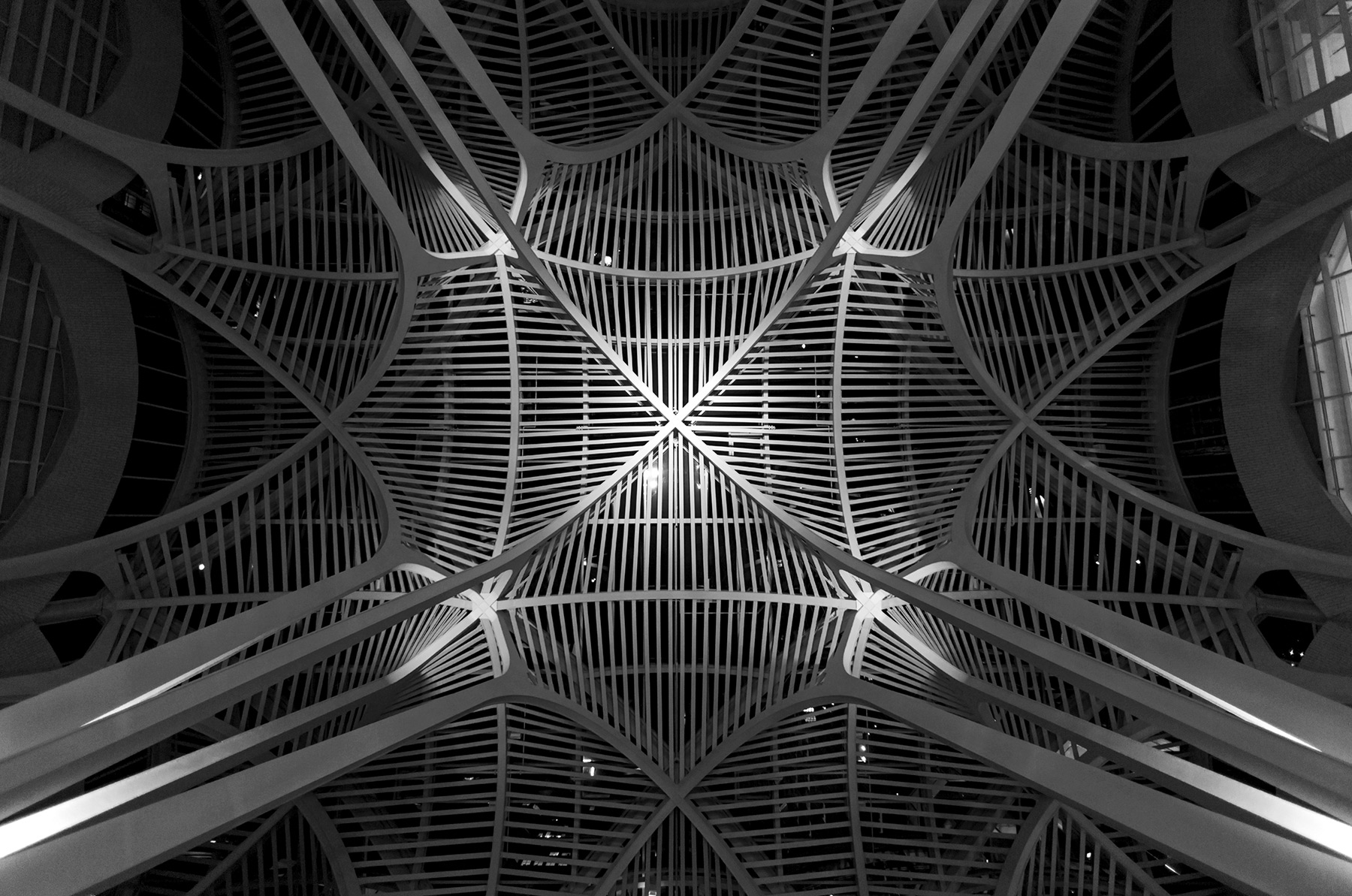 20150728. An intricate ceiling at Sam Pollock Square  in Toronto