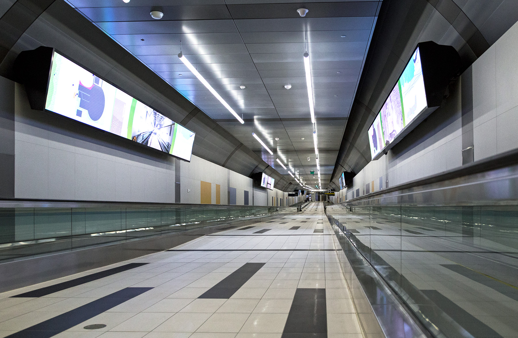 20150730. The Billy Bishop Island Airport Pedestrian Tunnel is o