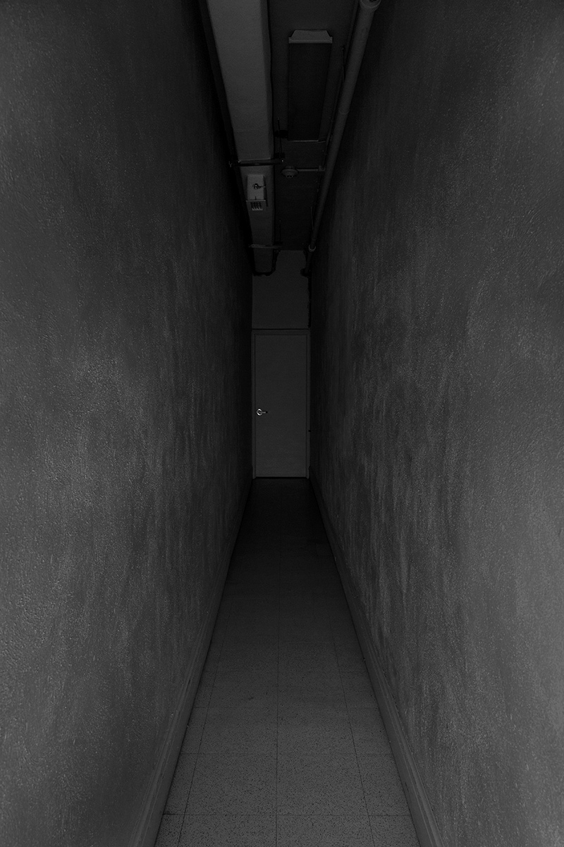 20150808. What lies beyond this dark incapacious corridor? Minim