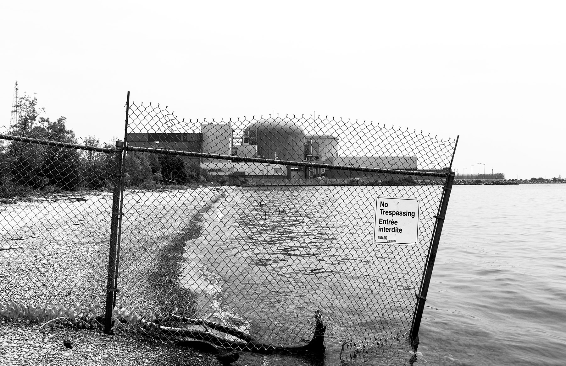 20150903. Do not enter the Pickering Nuclear Exclusion Zone.