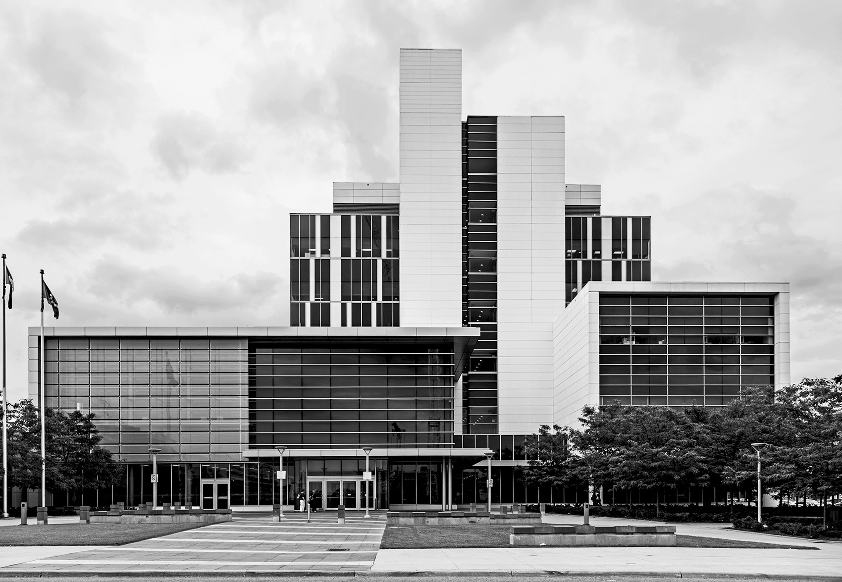 20150912. WZMH Architects' Durham Region Courthouse in Oshawa, O