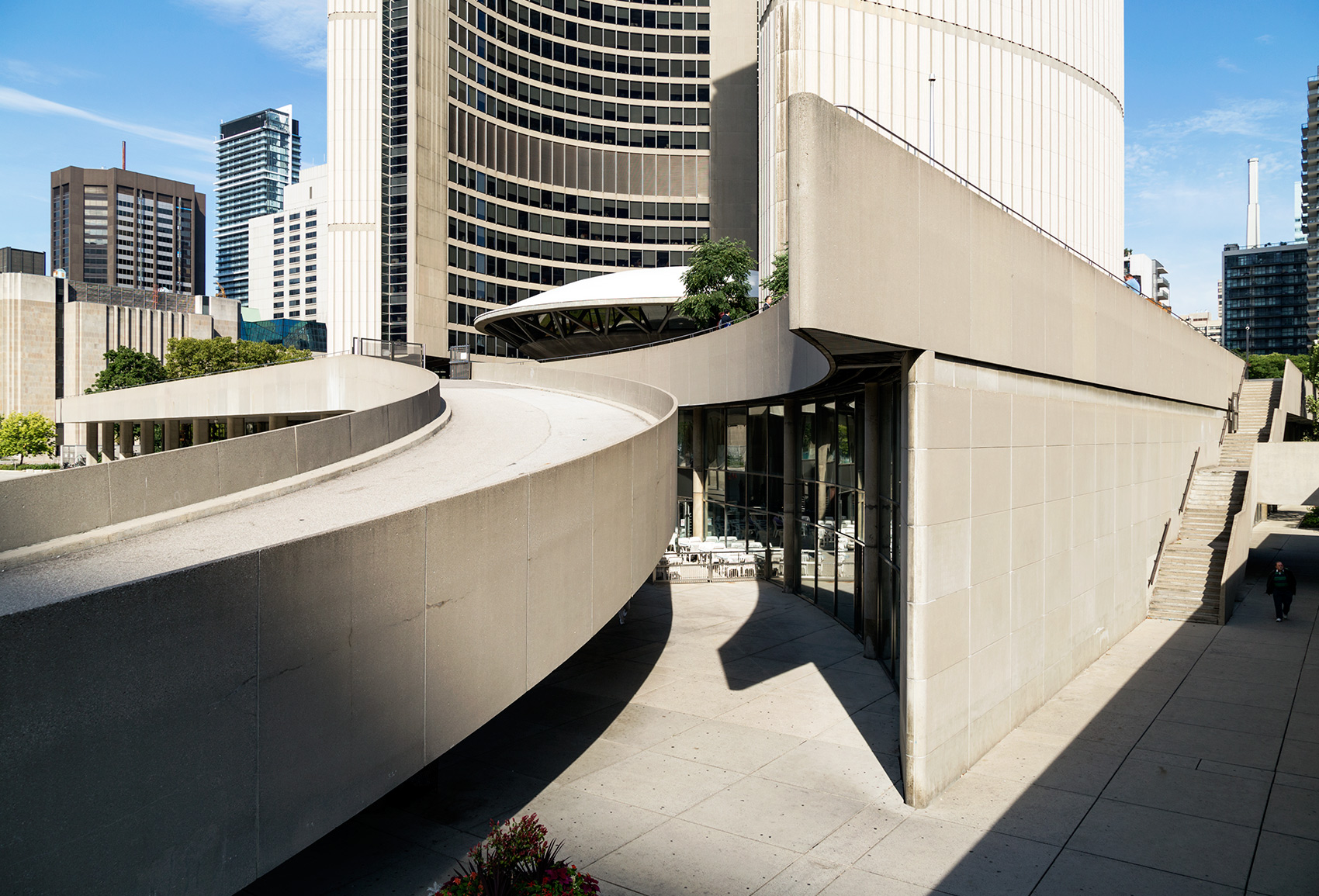 20150913. On its 50th Anniversary, Toronto City Hall is still th