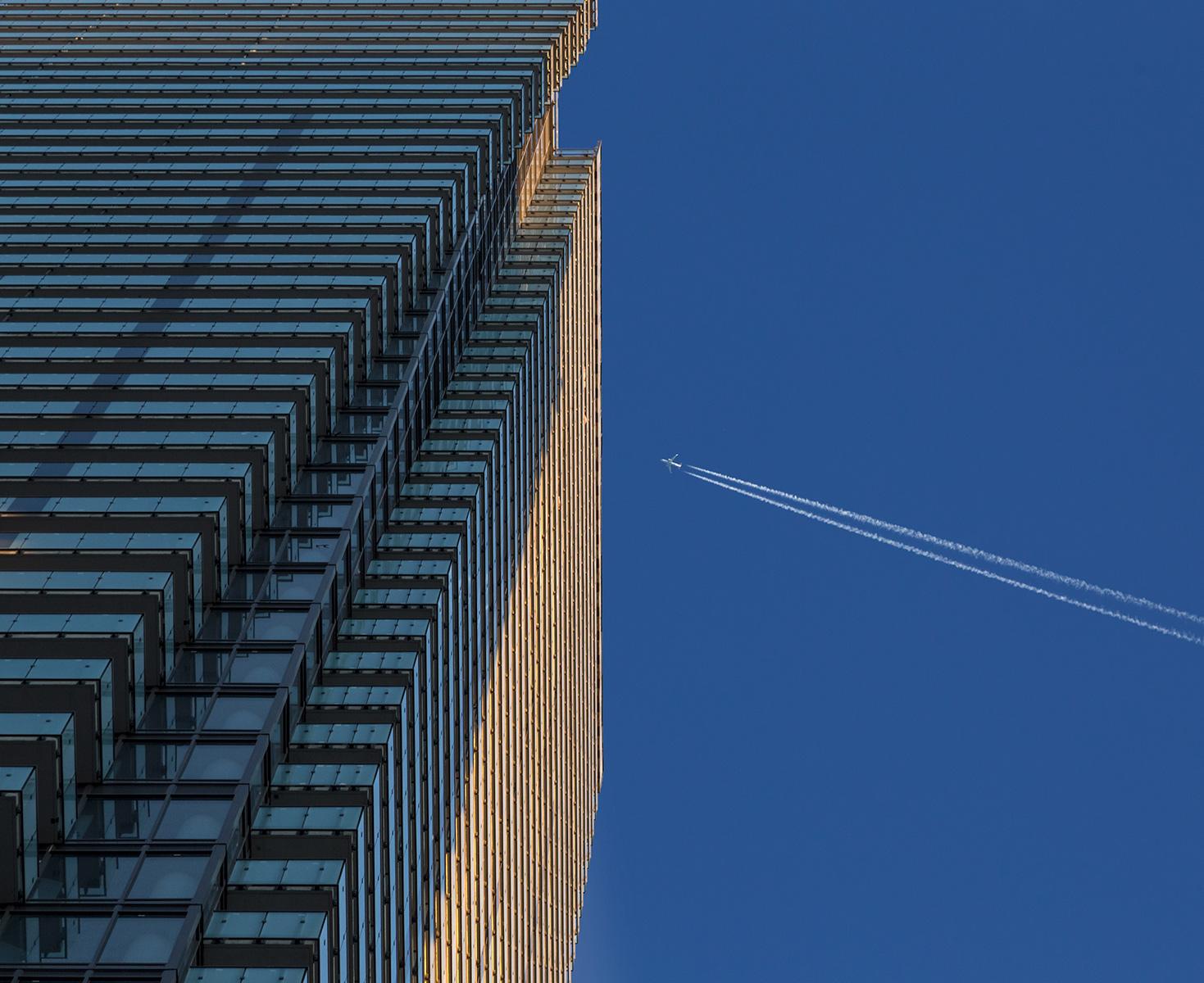 20151103. The U condominium skyscraper keeps another skyscraper