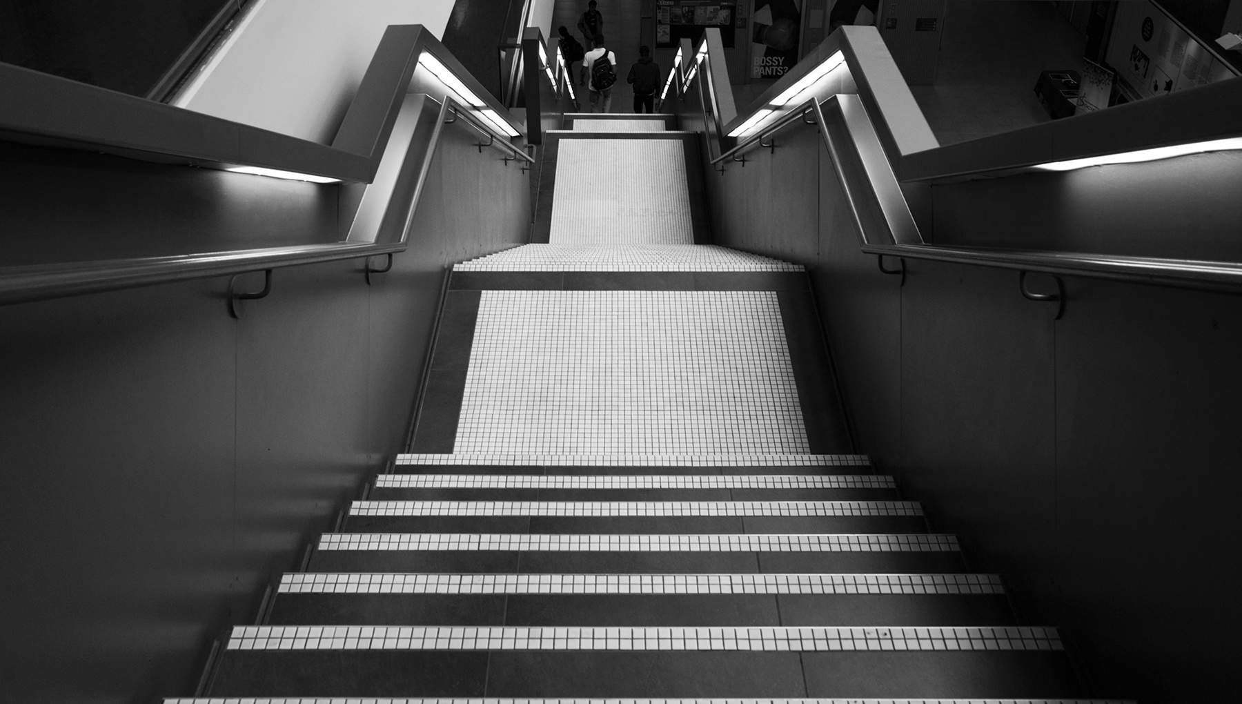 20151104. Take the stairs at the University of Toronto Scarborou