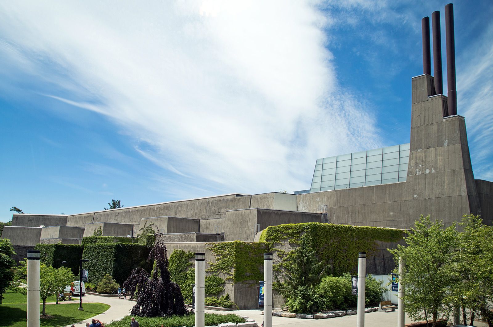 20151124. Brutalism at its Best at University of Toronto Scarbor