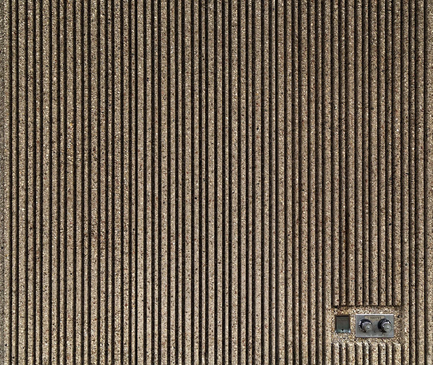 20151223. Beauty in coarse, grooved, poured-in-place concrete. M