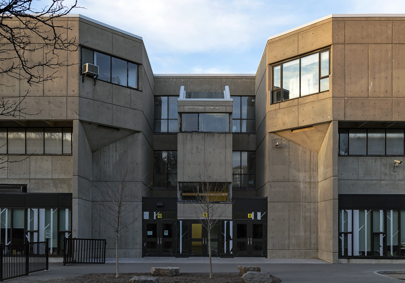 20151230. Scarborough Public School Brutalism. Canadian Architec