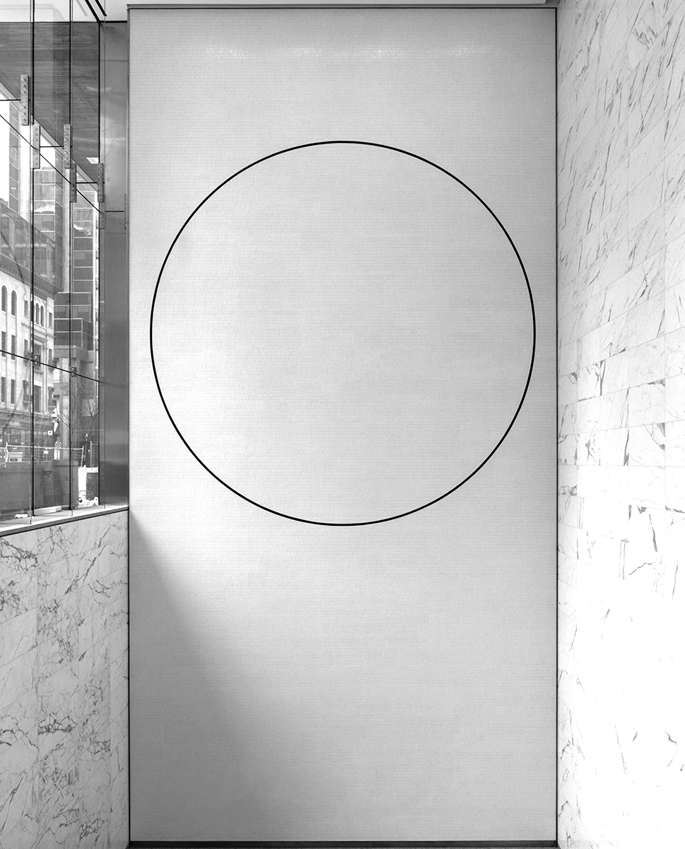 20160214. Large scale minimal art in Toronto's new Bay Adelaide