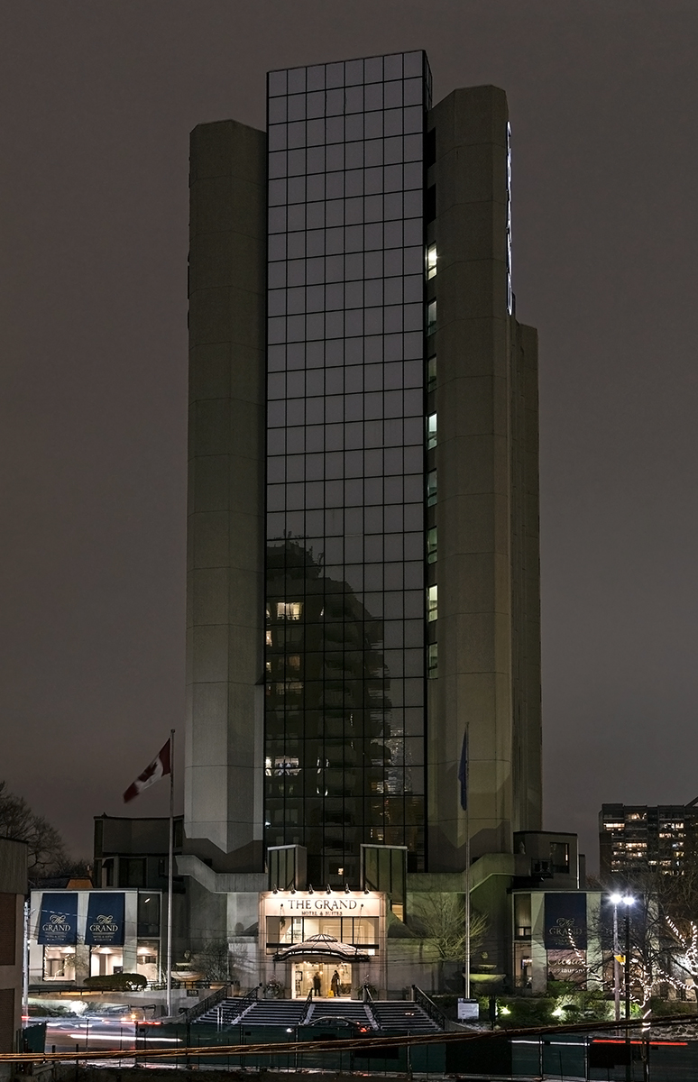 20160225. Toronto's 1972 brutalist Grand Hotel may be redevelope