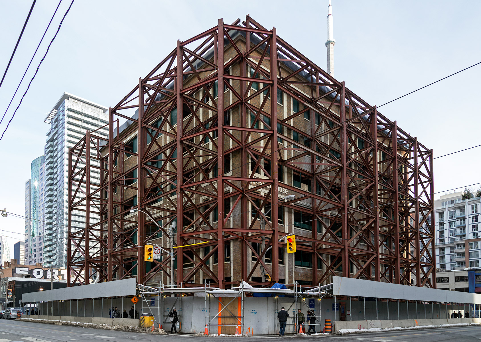 20160306. The 1927 Canadian Westinghouse Building has donned an