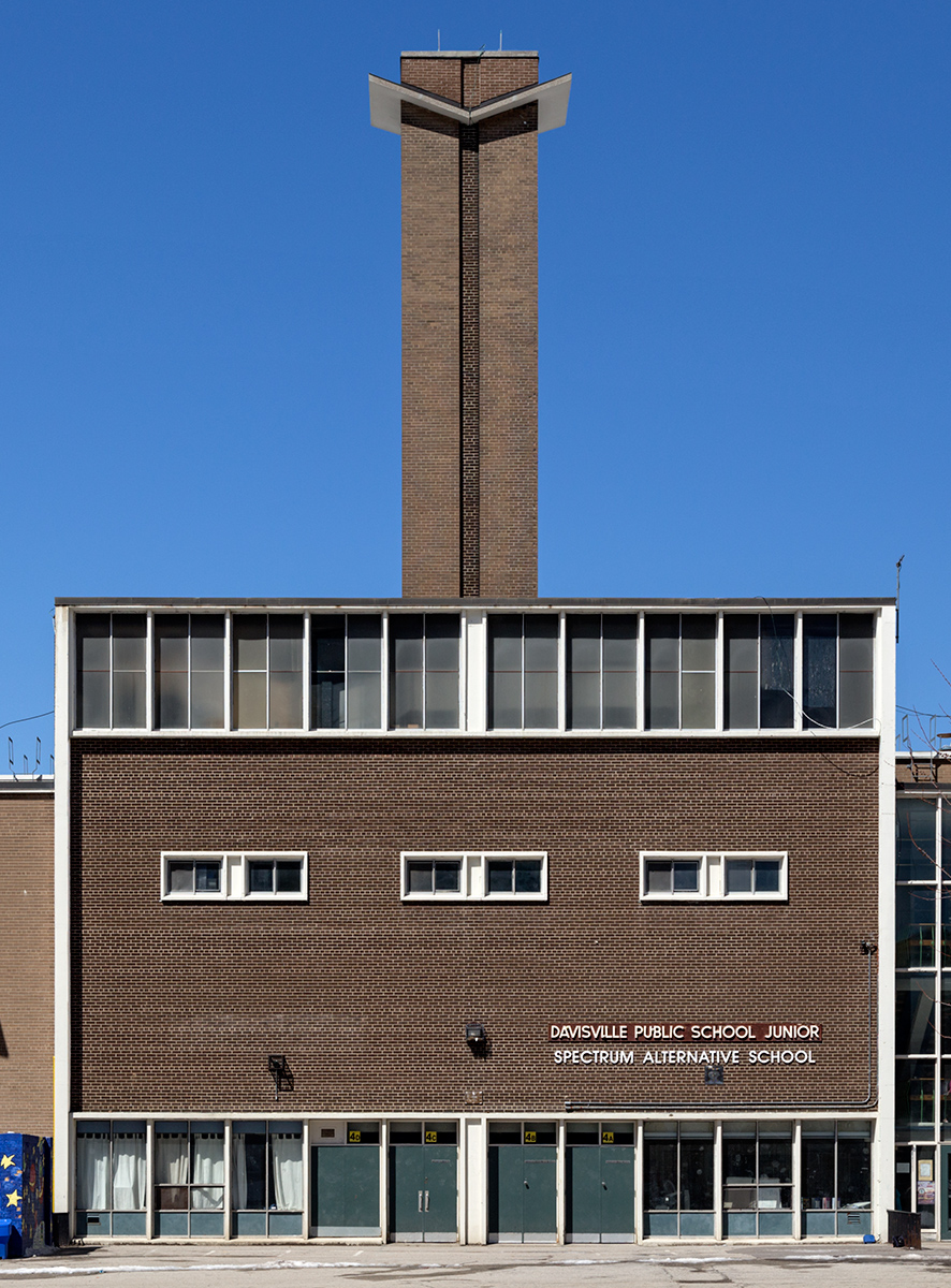 adly, one of the most expressive Modernist buildings in Toronto,