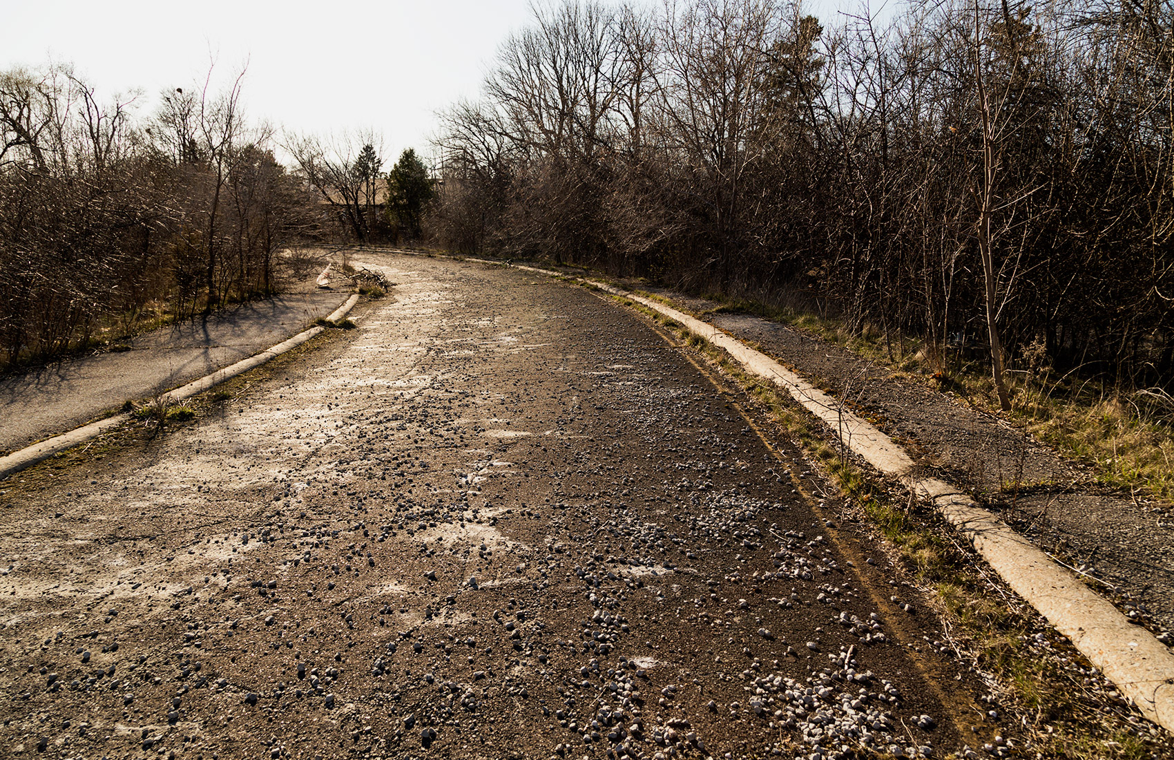 20160419. Yes, Toronto has an abandoned highway on-ramp.