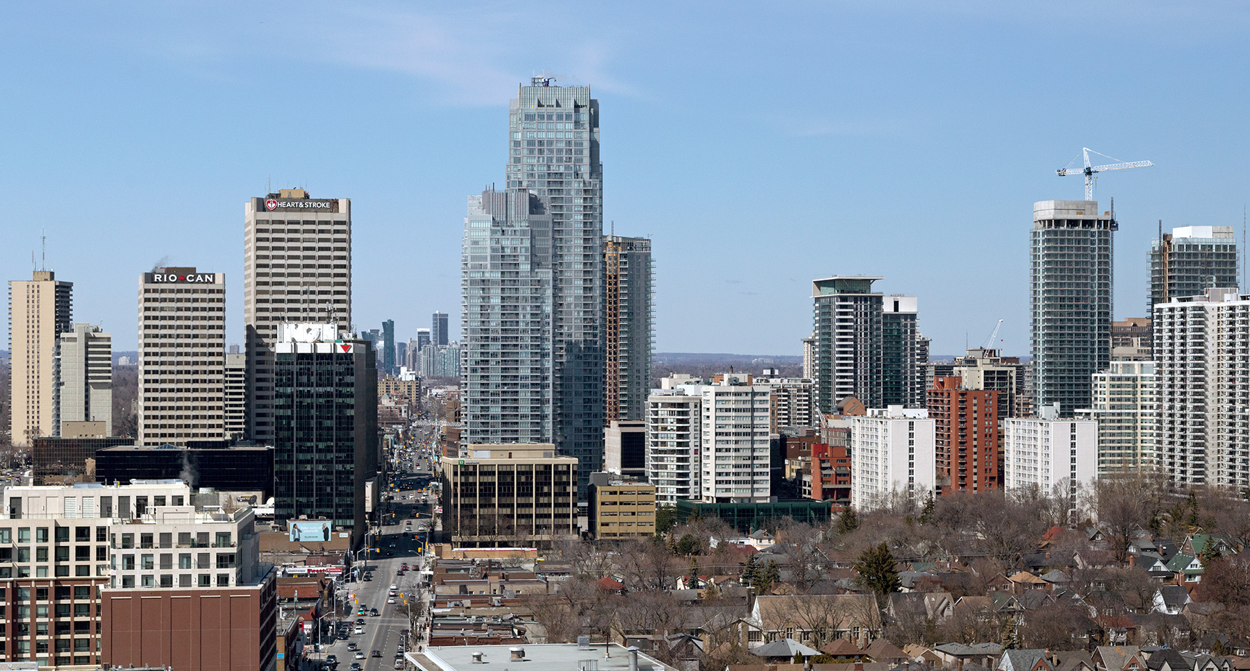 20160503. Toronto's Yonge and Eglinton skyline continues to rise