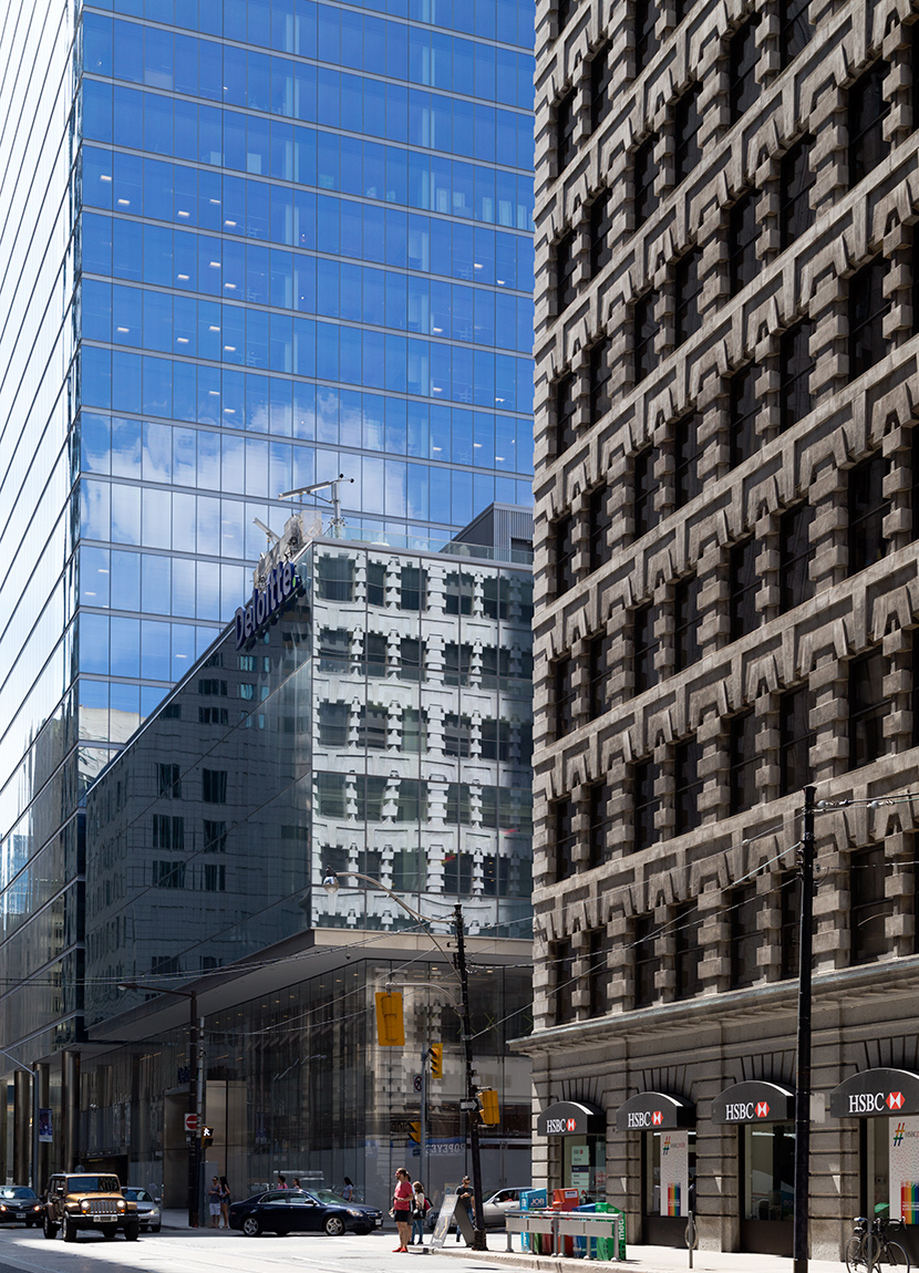 20160712. Toronto's brilliant 1910 Lumsden Building sees its ref