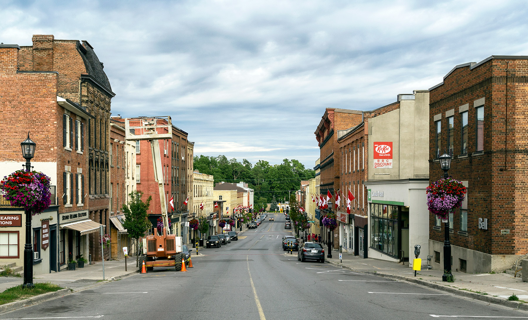 20160730. Port Hope's Walton Street is acclaimed as the best pre